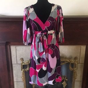 🦊 Bisou Bisou colorful and flirty dress. NWOT